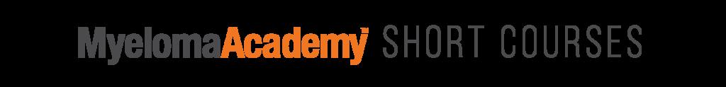 Myeloma Academy Short Courses logos-02